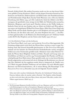 Bild der Seite - 17 - in Ethik und Moral im Wiener Kreis - Zur Geschichte eines engagierten Humanismus
