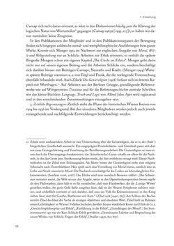 Bild der Seite - 28 - in Ethik und Moral im Wiener Kreis - Zur Geschichte eines engagierten Humanismus