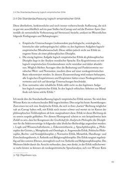 Bild der Seite - 65 - in Ethik und Moral im Wiener Kreis - Zur Geschichte eines engagierten Humanismus