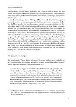 Bild der Seite - 87 - in Ethik und Moral im Wiener Kreis - Zur Geschichte eines engagierten Humanismus