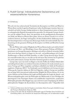 Bild der Seite - 89 - in Ethik und Moral im Wiener Kreis - Zur Geschichte eines engagierten Humanismus