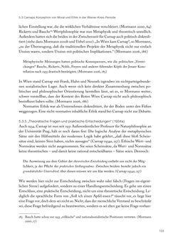 Bild der Seite - 133 - in Ethik und Moral im Wiener Kreis - Zur Geschichte eines engagierten Humanismus