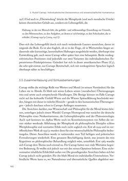 Bild der Seite - 160 - in Ethik und Moral im Wiener Kreis - Zur Geschichte eines engagierten Humanismus