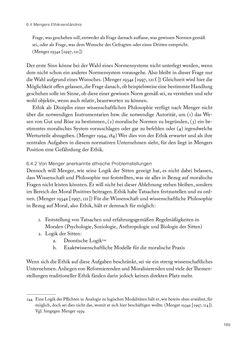 Bild der Seite - 189 - in Ethik und Moral im Wiener Kreis - Zur Geschichte eines engagierten Humanismus