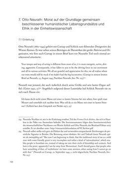 Bild der Seite - 196 - in Ethik und Moral im Wiener Kreis - Zur Geschichte eines engagierten Humanismus