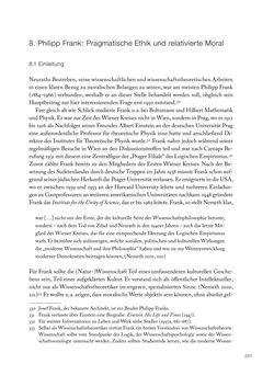 Bild der Seite - 251 - in Ethik und Moral im Wiener Kreis - Zur Geschichte eines engagierten Humanismus