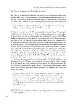 Bild der Seite - 262 - in Ethik und Moral im Wiener Kreis - Zur Geschichte eines engagierten Humanismus