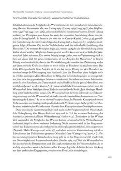 Bild der Seite - 403 - in Ethik und Moral im Wiener Kreis - Zur Geschichte eines engagierten Humanismus