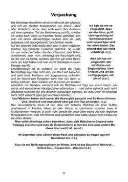 Bild der Seite - 71 - in Von europäischen Klischees & der österreichischen Sicht...