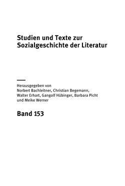 Bild der Seite - (000001) - in Existentialismus in Österreich - Kultureller Transfer und literarische Resonanz
