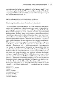 Bild der Seite - 145 - in FAUST UND GEIST - Literatur und Boxen zwischen den Weltkriegen