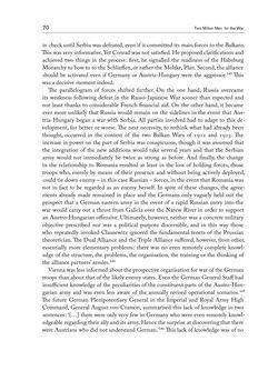 Bild der Seite - 70 - in THE FIRST WORLD WAR - and the End of the Habsburg Monarchy, 1914 – 1918