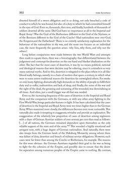 Bild der Seite - 352 - in THE FIRST WORLD WAR - and the End of the Habsburg Monarchy, 1914 – 1918
