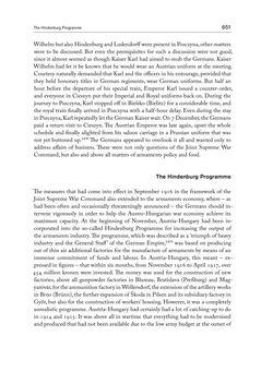Bild der Seite - 651 - in THE FIRST WORLD WAR - and the End of the Habsburg Monarchy, 1914 – 1918