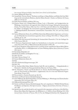 Bild der Seite - 1046 - in THE FIRST WORLD WAR - and the End of the Habsburg Monarchy, 1914 – 1918