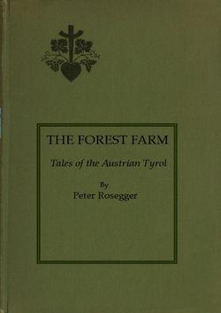 Bild der Seite - (000001) - in The Forest Farm - Tales of the Austrian Tyrol