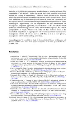 Bild der Seite - 63 - in Freshwater Microplastics - Emerging Environmental Contaminants?
