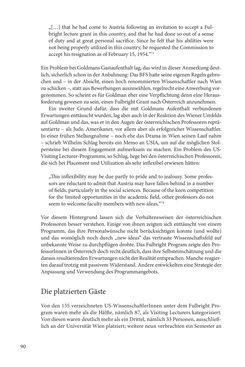 """Bild der Seite - 90 - in Die Frühgeschichte des Fulbright Program in Österreich - Transatlantische """"Fühlungnahme auf dem Gebiete der Erziehung"""""""