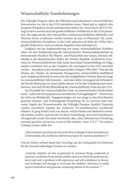 """Bild der Seite - 106 - in Die Frühgeschichte des Fulbright Program in Österreich - Transatlantische """"Fühlungnahme auf dem Gebiete der Erziehung"""""""