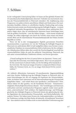 """Bild der Seite - 117 - in Die Frühgeschichte des Fulbright Program in Österreich - Transatlantische """"Fühlungnahme auf dem Gebiete der Erziehung"""""""