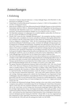 """Bild der Seite - 137 - in Die Frühgeschichte des Fulbright Program in Österreich - Transatlantische """"Fühlungnahme auf dem Gebiete der Erziehung"""""""