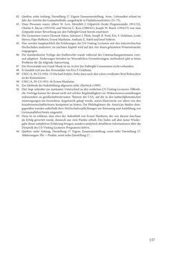 """Bild der Seite - 157 - in Die Frühgeschichte des Fulbright Program in Österreich - Transatlantische """"Fühlungnahme auf dem Gebiete der Erziehung"""""""