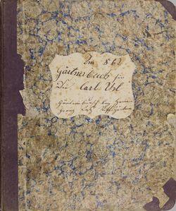 Bild der Seite - Einband vorne - in Gärtnerbuch für den Carl Url
