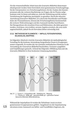 Bild der Seite - 121 - in Generative Bildarbeit - Zum transformativen Potential fotografischer Praxis
