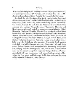 Image of the Page - 6 - in Germanistik in Wien - Das Seminar für Deutsche Philologie und seine Privatdozentinnen (1897–1933)