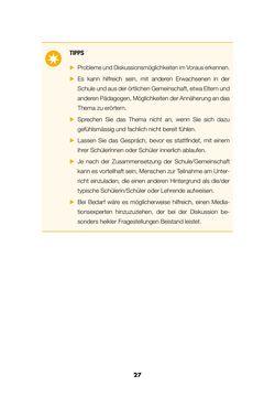 Bild der Seite - 26 - in Lehrerhandbuch zur Prävention von Gewalttätigem Extremismus