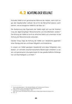 Bild der Seite - 43 - in Lehrerhandbuch zur Prävention von Gewalttätigem Extremismus