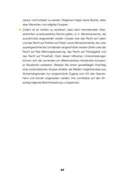 Image of the Page - 45 - in Lehrerhandbuch zur Prävention von Gewalttätigem Extremismus