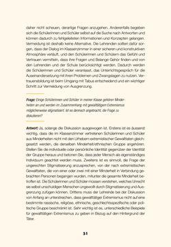 Image of the Page - 49 - in Lehrerhandbuch zur Prävention von Gewalttätigem Extremismus