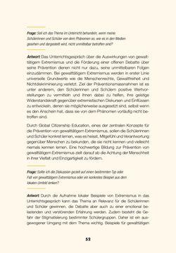 Image of the Page - 50 - in Lehrerhandbuch zur Prävention von Gewalttätigem Extremismus