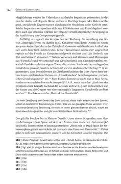 Image of the Page - 126 - in Gewalt im Computerspiel - Facetten eines Vergnügens