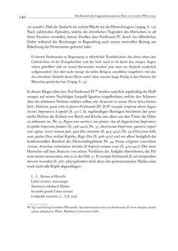 Bild der Seite - 140 - in Giambattista Marinos Wort-Zucht-Peitschen und die Gegenreformation in Wien um 1655