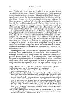 Image of the Page - 22 - in Glaubenskämpfe - Katholiken und Gewalt im 19. Jahrhundert