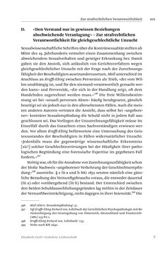 Image of the Page - 101 - in Verkehrte Leidenschaft - Gleichgeschlechtliche Unzucht im Kontext von Strafrecht und Medizin