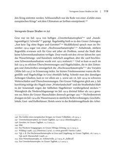 Bild der Seite - 119 - in Graz 1914 - Der Volkskrieg auf der Straße