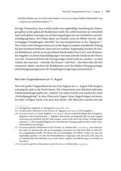 Bild der Seite - 187 - in Graz 1914 - Der Volkskrieg auf der Straße