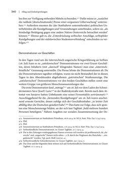 Bild der Seite - 340 - in Graz 1914 - Der Volkskrieg auf der Straße