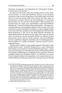 Bild der Seite - 21 - in Guido Adlers Erbe - Restitution und Erinnerung an der Universität Wien