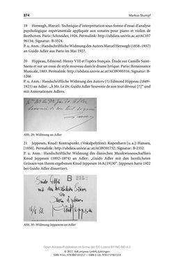 Bild der Seite - 274 - in Guido Adlers Erbe - Restitution und Erinnerung an der Universität Wien