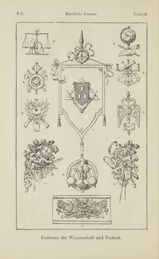 Bild der Seite - 134 - in Handbuch der Ornamentik - Zum Gebrauch für Musterzeichner, Architekten, Schulen und Gewerbetreibende sowie zum Studium im Allgemeinen