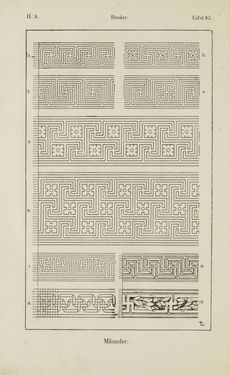 Bild der Seite - 148 - in Handbuch der Ornamentik - Zum Gebrauch für Musterzeichner, Architekten, Schulen und Gewerbetreibende sowie zum Studium im Allgemeinen