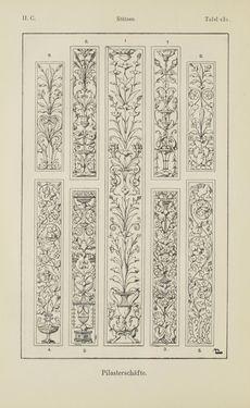 Bild der Seite - 234 - in Handbuch der Ornamentik - Zum Gebrauch für Musterzeichner, Architekten, Schulen und Gewerbetreibende sowie zum Studium im Allgemeinen
