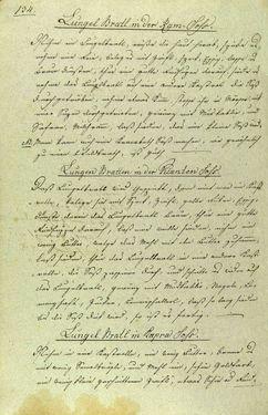 Bild der Seite - 134 - in Handschriftliches Kochbuch - Anno 1818