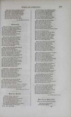 Bild der Seite - 177 - in Poetischer Hausschatz des deutschen Volkes - Ein Buch für Schule und Haus