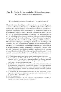 Bild der Seite - 15 - in Heimatrecht und Staatsbürgerschaft österreichischer Juden - Vom Ende des 18. Jahrhunderts bis in die Gegenwart