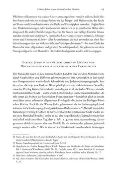 Bild der Seite - 19 - in Heimatrecht und Staatsbürgerschaft österreichischer Juden - Vom Ende des 18. Jahrhunderts bis in die Gegenwart